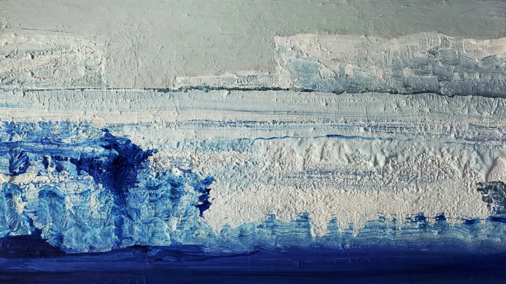 On and On Antarctica.  41x71cm. $750