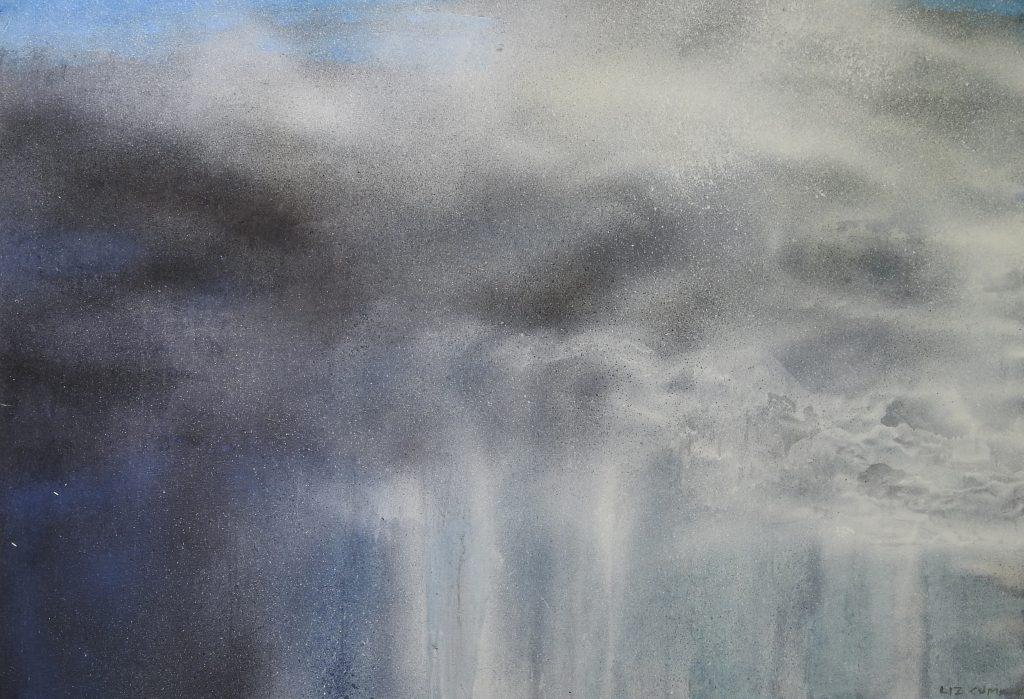 SOLD.  Cloudspace 2.  122x152cm.