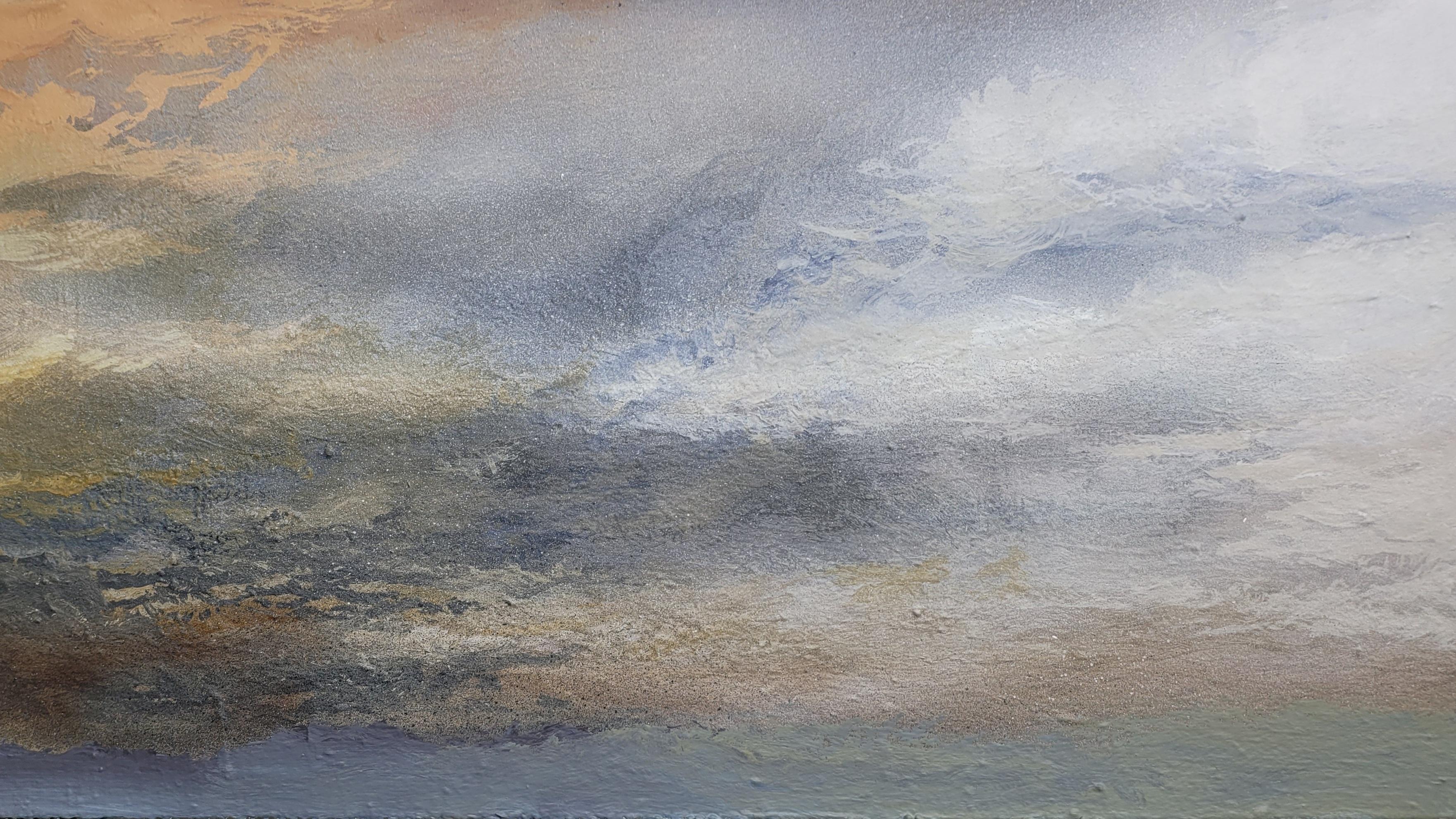 Softly-softly Sky.  122x152cm